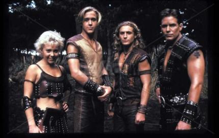 Da sinistra: Lilith, Hercules, Iolao e  Giasone
