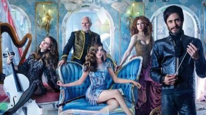 Da sinistra: Cynthia, Thomas, Hailey, Gloria e Rodrigo
