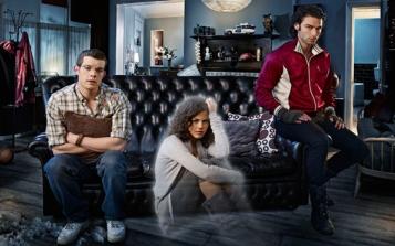 Da sinistra: George, Annie e John